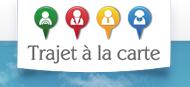 Logo covoiturage d'entreprise trajetalacarte.com