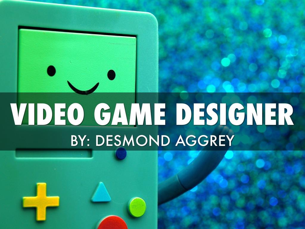 Game designer : votre esprit vif a enfin trouvé sa voie.
