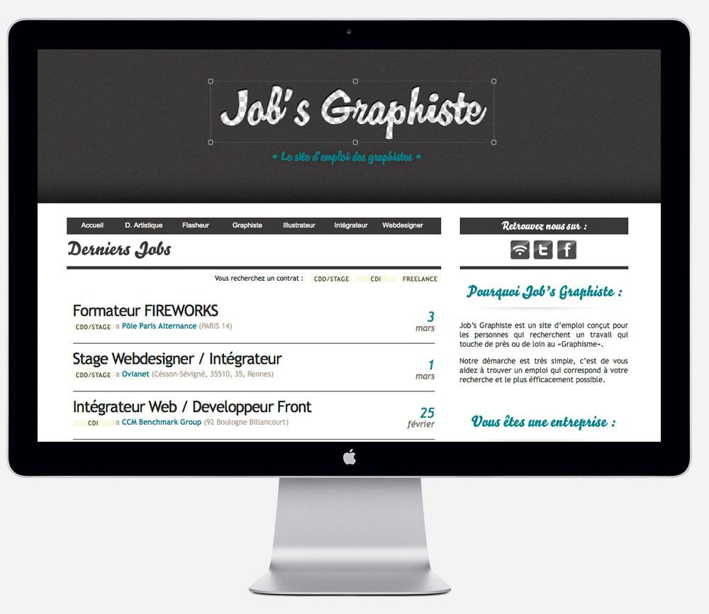Le métier de graphiste : intégrer une agence de comm !