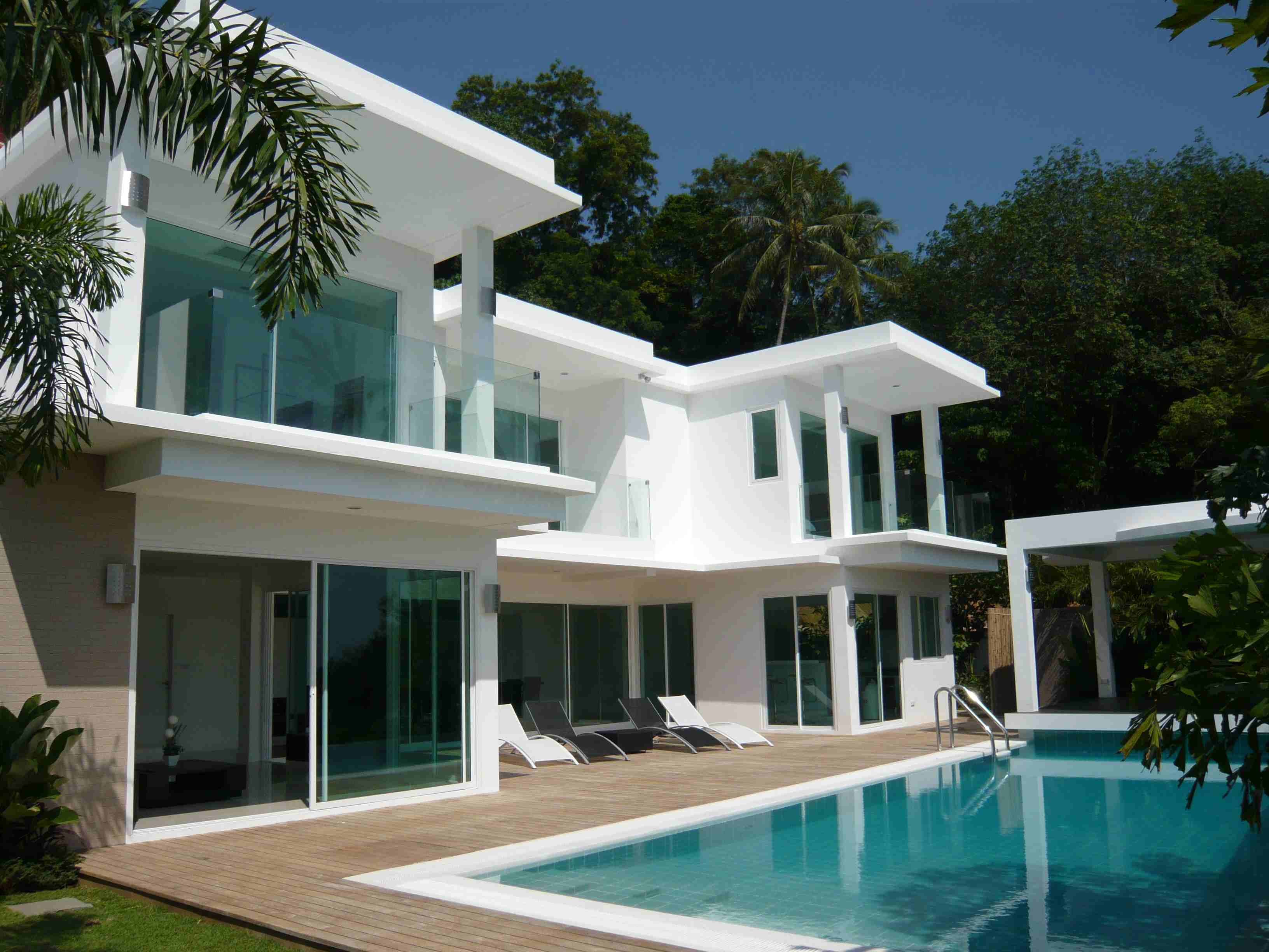 Location maison toulouse une maison avec de la vie - Maison contemporaine de luxe ...