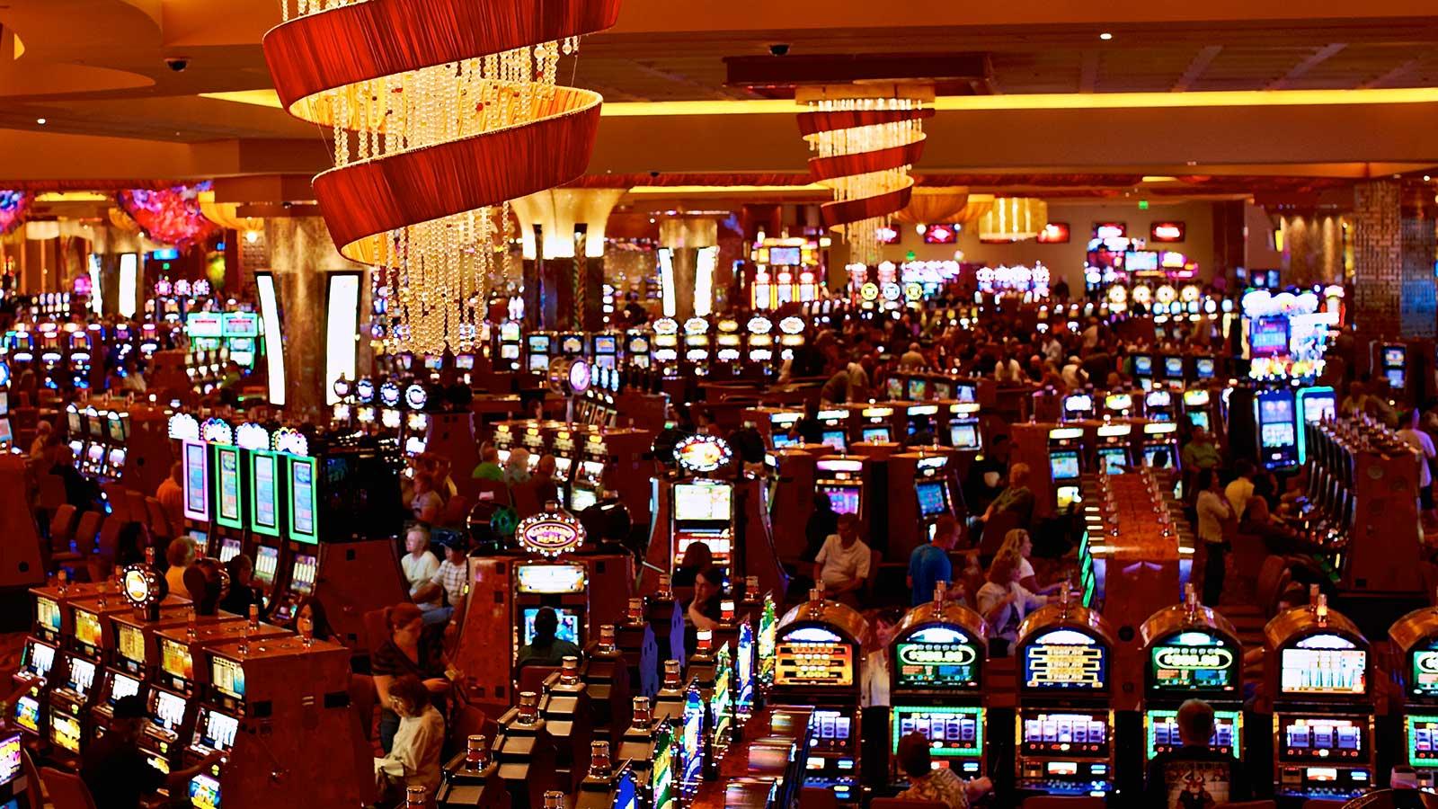 Machine à sous: un jeu d'argent réel