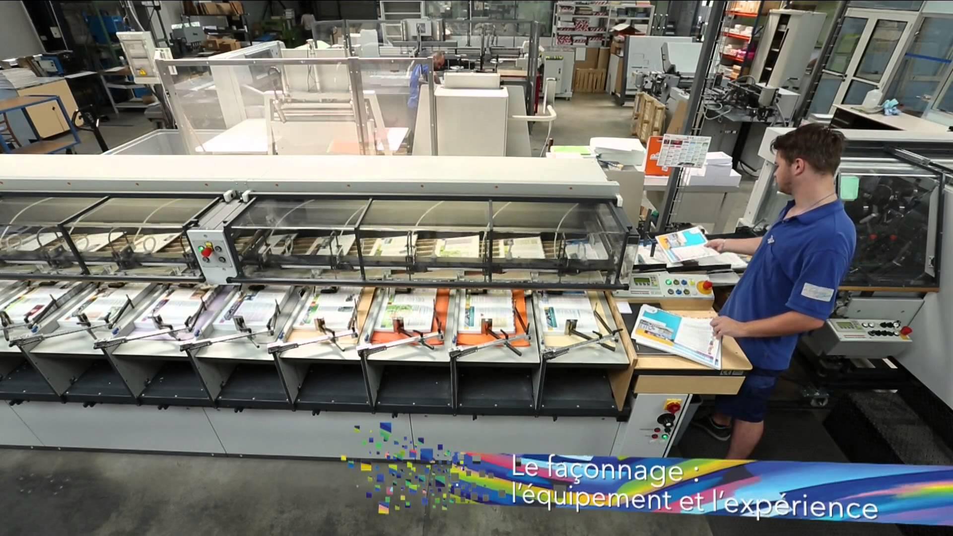 Impression couleur en ligne ou chez un imprimeur?